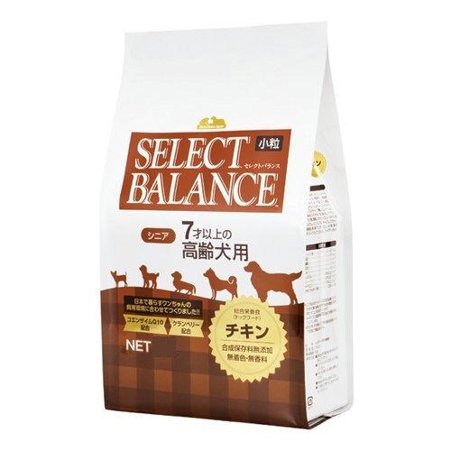セレクトバランス ドッグフード シニア 7才以上の高齢犬用 チキン 小粒 3kg 1袋 ベッツ・チョイス・ジャパン