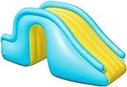 T.Y.G.F プール すべり台 インフレータブル ウォータースライド 水スライド 子供用サーフボード プール滑り台 空気入れ 安全 スイミングプール用品 子供のための膨脹可能なおもちゃ屋内/屋外/ビーチ/プール/庭/裏