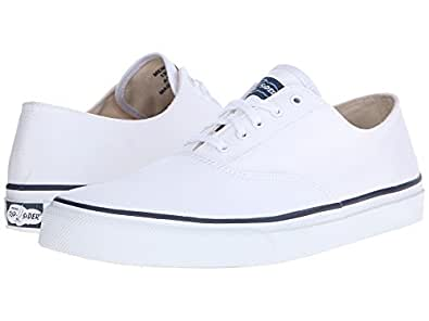 (スペリートップサイダー) SPERRY TOPSIDER 靴・シューズ CVO Canvas White ホワイト US 13 (31cm) M