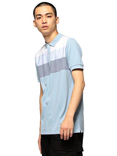 (ビームス) BEAMS/クロス切り替え ポロシャツ 11020293823