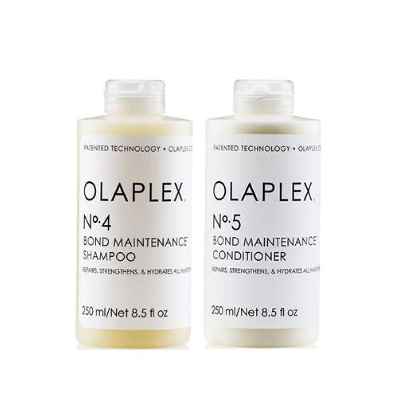 暴力ローズコミットメントOlaplex オラプレックス No. 4 5 ボンド メンテナンス シャンプー&コンディショナー Olaplex Bond Maintenance Shampoo & Conditioner 【並行輸入品】