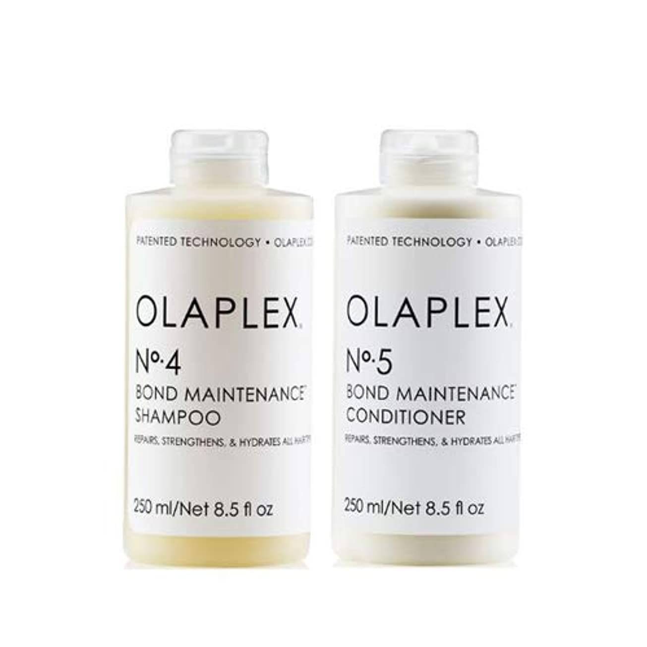 恐怖忠誠テーブルを設定するOlaplex オラプレックス No. 4 5 ボンド メンテナンス シャンプー&コンディショナー Olaplex Bond Maintenance Shampoo & Conditioner 【並行輸入品】