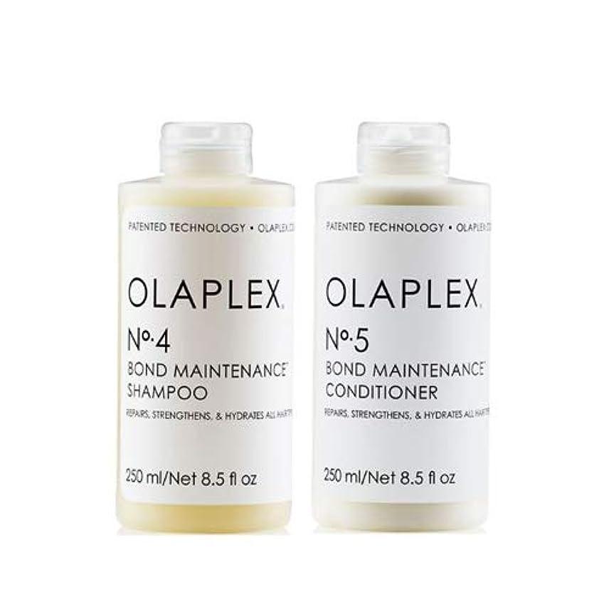 今後置くためにパックマングルOlaplex オラプレックス No. 4 5 ボンド メンテナンス シャンプー&コンディショナー Olaplex Bond Maintenance Shampoo & Conditioner 【並行輸入品】