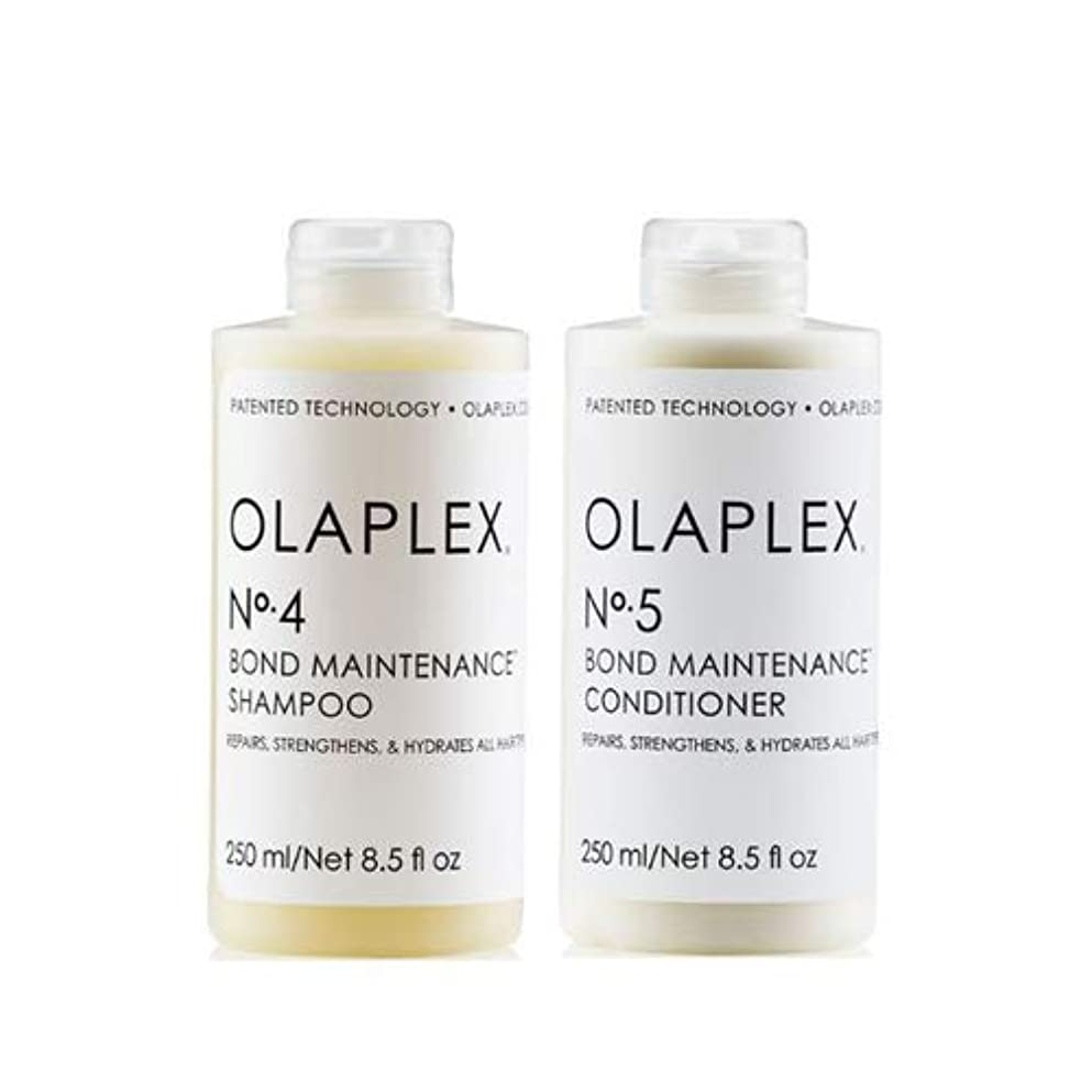 ウィスキー危険にさらされているリスキーなOlaplex オラプレックス No. 4 5 ボンド メンテナンス シャンプー&コンディショナー Olaplex Bond Maintenance Shampoo & Conditioner 【並行輸入品】