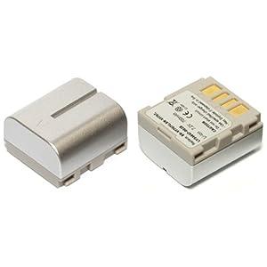 MyBattery HQ+ JVC BN-VF707互換バッテリー【シルバー】(お得な2個セット) MBH-BN-VF707 Silver Plus