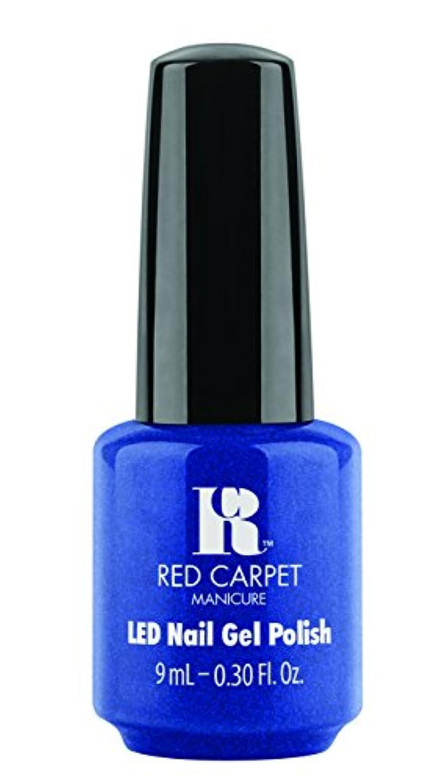 告発見出し磁器Red Carpet Manicure - LED Nail Gel Polish - Drop Dead Gorgeous - 0.3oz / 9ml