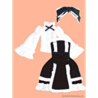 ピコニーモサイズ 1/12 ピコD ゴスロリフリルドレスset ブラック(ドール用衣装)