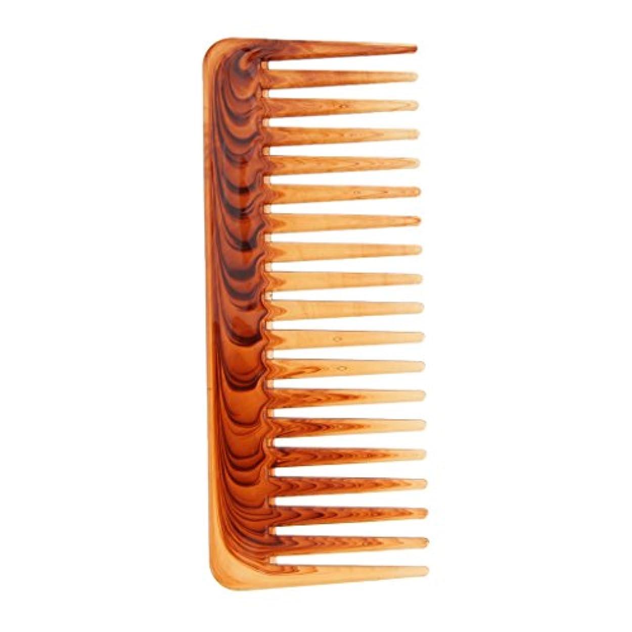いいね真鍮蚊ヘアコーム ヘアブラシ 櫛 ワイド歯 サロン ヘアスタイリング 耐熱性 帯電防止
