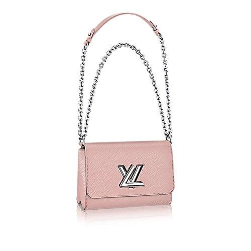 Authentic Louis Vuitton EpiレザーツイストMMハンドバッグArticle : m50380ピンクフランス製