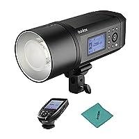 Godox AD600Pro 600Ws TTL GN87 1/8000s HSS 屋外フラッシュストロボライト+ 28.8V/2600mAhニコンシリーズカメラの充電式リチウム電池+ Xpro-Nフラッシュトリガー ニコン用