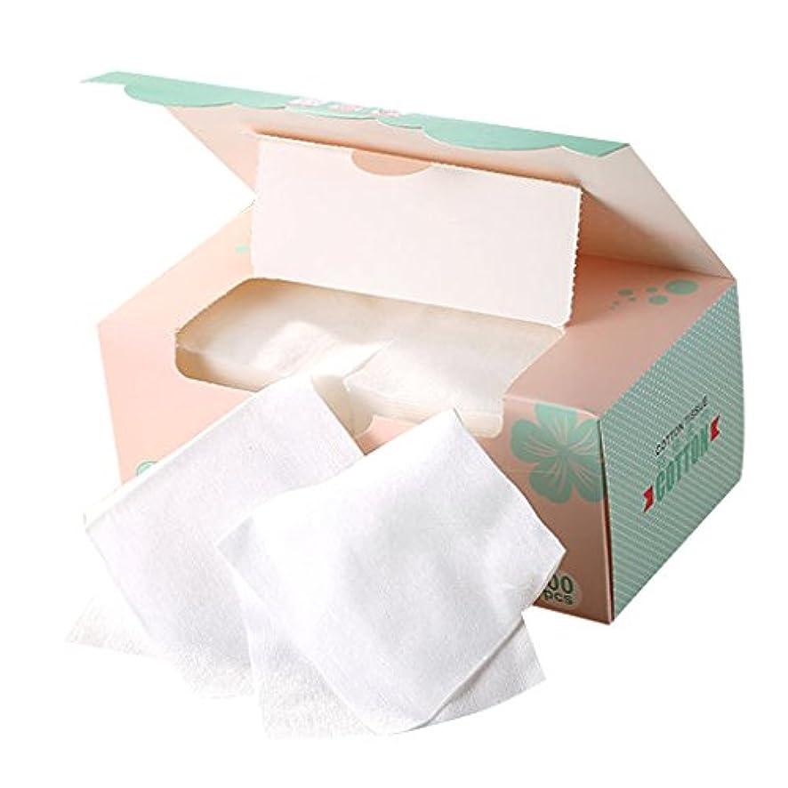選出する小麦粉混乱Toygogo メイクリムーバー 顔用タオル フェイスタオル 使い捨て 不織布 メイク メイク落とし
