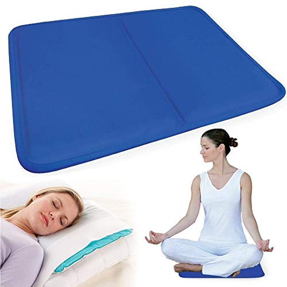 軍隊溢れんばかりのメッシュAlligado  冷却枕、枕多機能ウォーターピローマッサージマット冷却枕パッドは、ほてり、首の痛み、発熱などを軽減