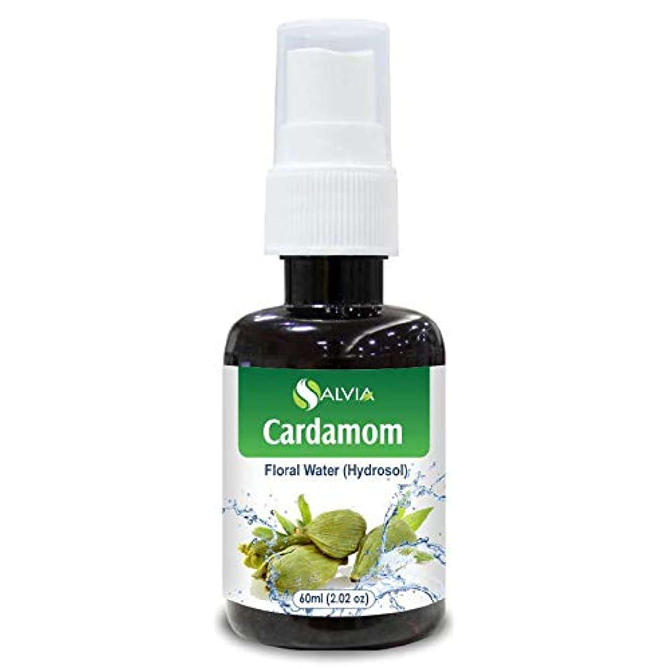 クレア間に合わせ麻痺させるCardamom Floral Water Floral Water 60ml (Hydrosol) 100% Pure And Natural
