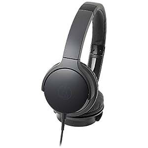 オーディオテクニカ ポータブルヘッドホン ブラック ATH-AR3 BK