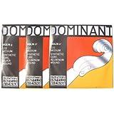 バイオリン弦 Thomastik Dominant/ドミナント弦 3/4サイズ用 ADG線セット  No.131 A線+No.132 D線+No.133 G線