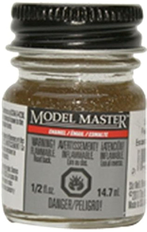 モデルマスターTestorsシルバーグリッターエナメルペイント0.5オンスボトル# 2784