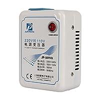 変圧器 ダウントランス 500W用(推薦400wまで) 高出力電気器具対応 200V~240V→100~120Vに 電圧変換 パワー コンバーター 海外で本国の電化製品が使用可能