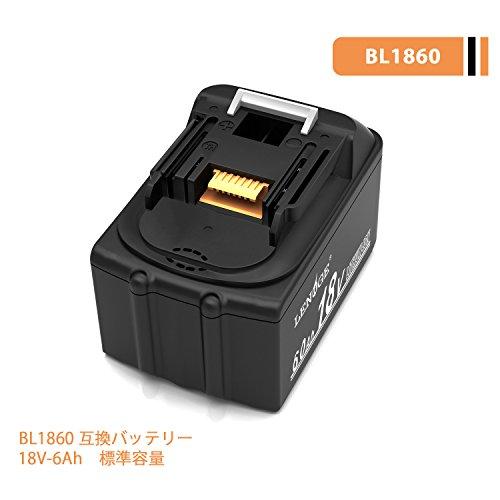 LENOGE マキタ BL1860 互換 バッテリー 18V...