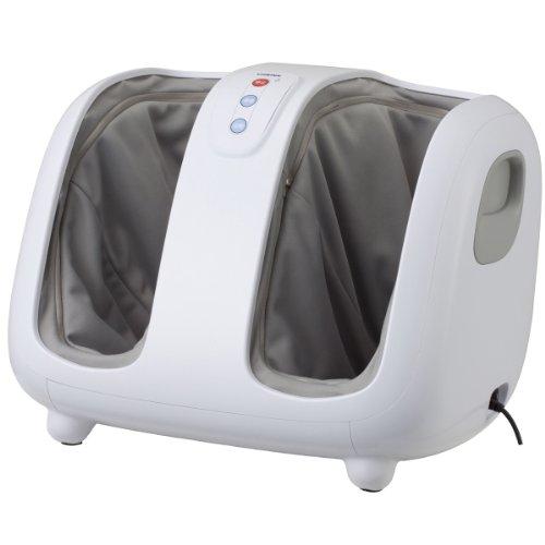 スライヴ <横に寝かせて使用可能> フットマッサージャー 【メディカルアイ】 MD-6101(W)