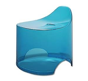シンカテック 風呂椅子 デュロー バススツール N クリアブルー