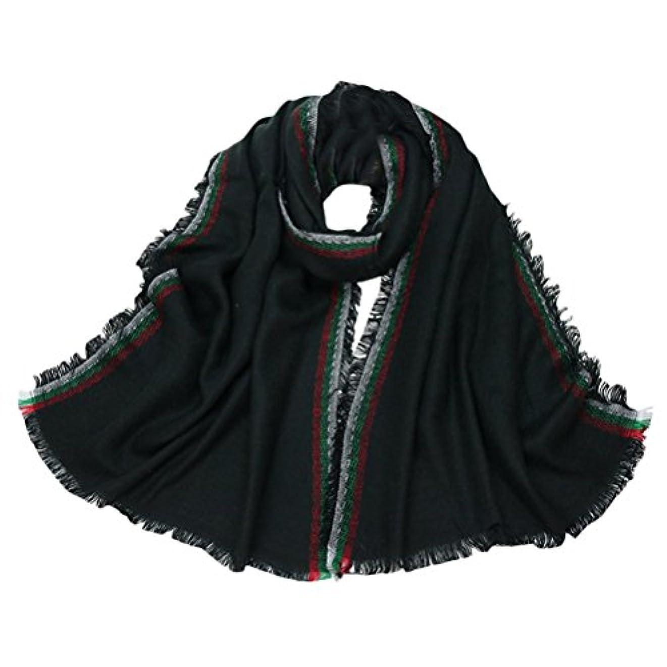 隣接衣服ハロウィンZhuhaitf Winter Womens Girls Daily Thickening スタイリッシュ Fashion Design Tassels スカーフ Scarves Shawls