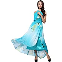 CelebrityDesignz PLUS SIZE Women Floral Halter Maxi Evening Dress 14 16 18 20 22 24 26 IN HAND-pld50