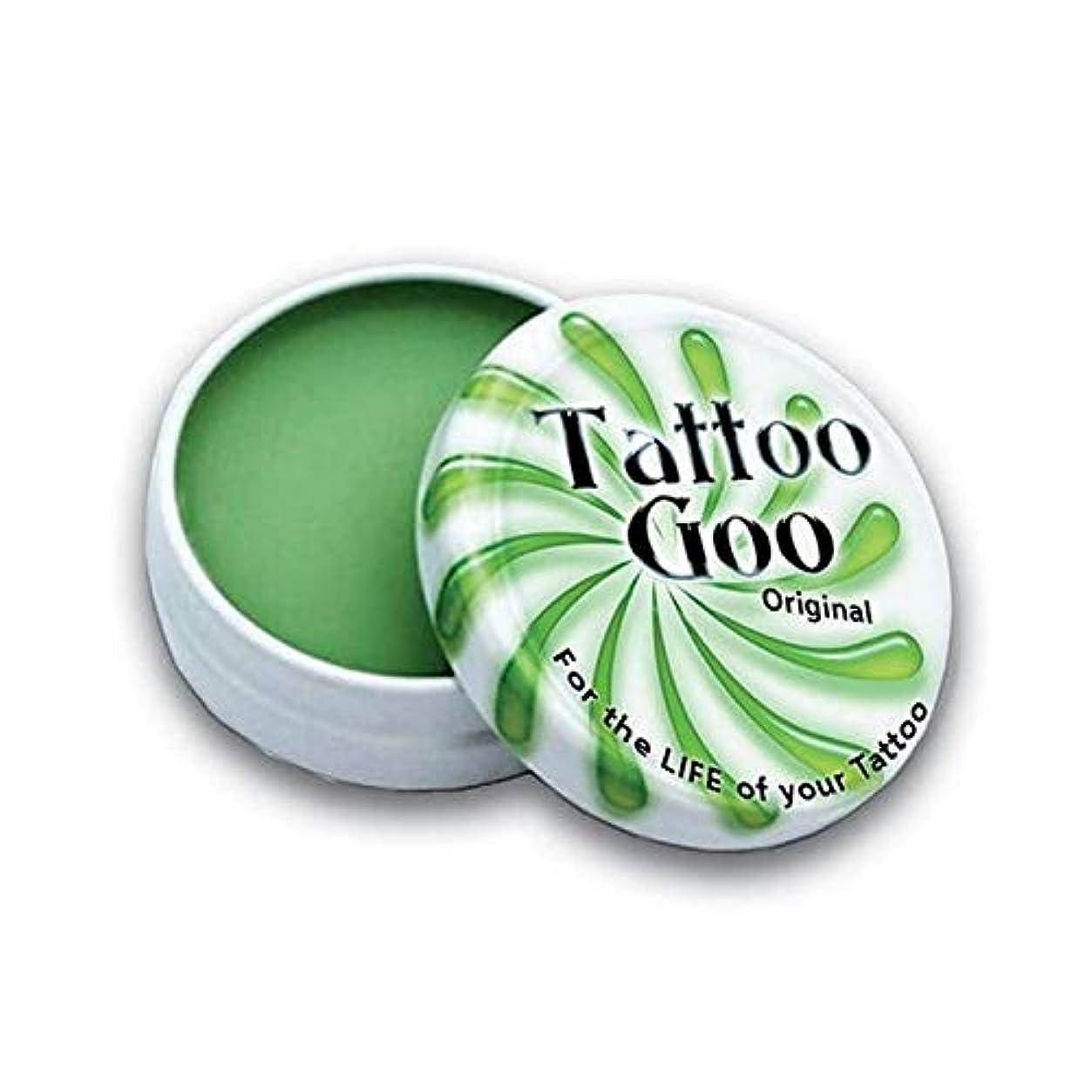 櫛リダクター動[Tattoo Goo ] タトゥーグー?3/4オンスオリジナル錫 - Tattoo Goo ? 3/4oz Original Tin [並行輸入品]