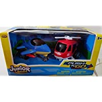 JUNIOR RACERS PUSH N'GO Powered 2PK Jet & Helicopter [並行輸入品]