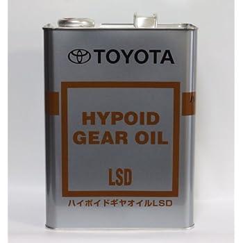 トヨタ純正ハイポイドギヤオイルLSD GL-5 85W-90 4L缶 08885-00305
