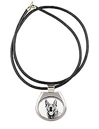 Malinois、コレクションのネックレス犬のイメージで、昇華