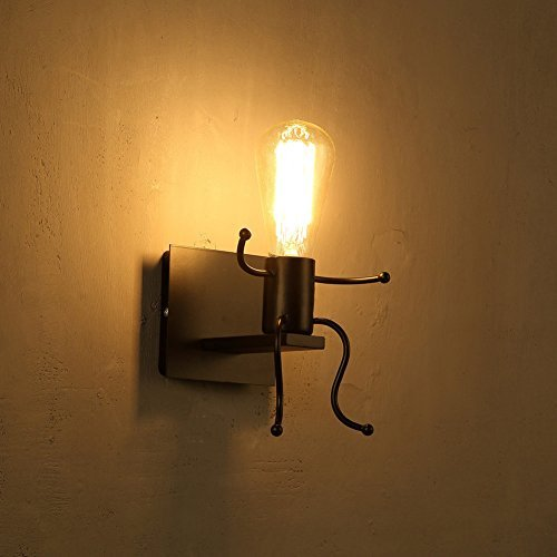 RoomClip商品情報 - Fuloon ブラケットライト 小人のように可愛い アンティーク調  レトロ  おしゃれ かっこいい 電球別売  壁掛け照明器具