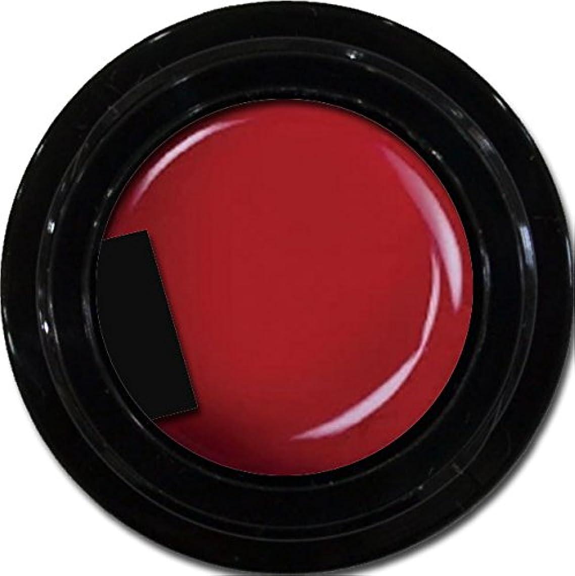 ストッキングキャラクター並外れたカラージェル enchant color gel M401 ShinyRed 3g/ マットカラージェル M401 シャイニーレッド 3グラム