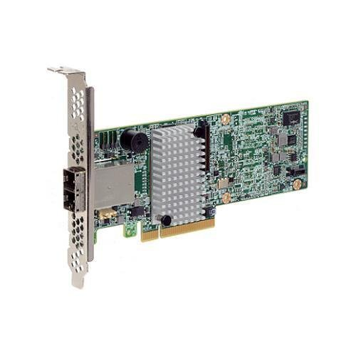 LSI MegaRAID SAS 9380-8e / 12Gb/s SAS - PCI Express 3.0 x8 - Plug-in Card - RAID Supported - 0, 1, 5, 6, 10, 50, 60 RAID Level - 8 SAS Port(s) / LSI00438 / by LSI [並行輸入品]
