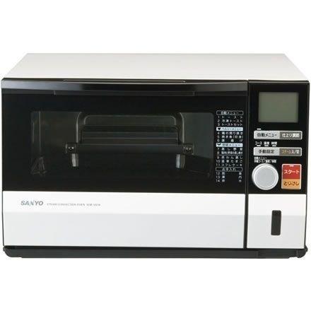 SANYO スチームコンベクションオーブン プレミアムホワイト SOB-VS10(W)