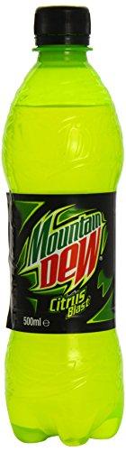 Mountain Dew Energy (500ml) 山の露エネルギー( 500ミリリットル)