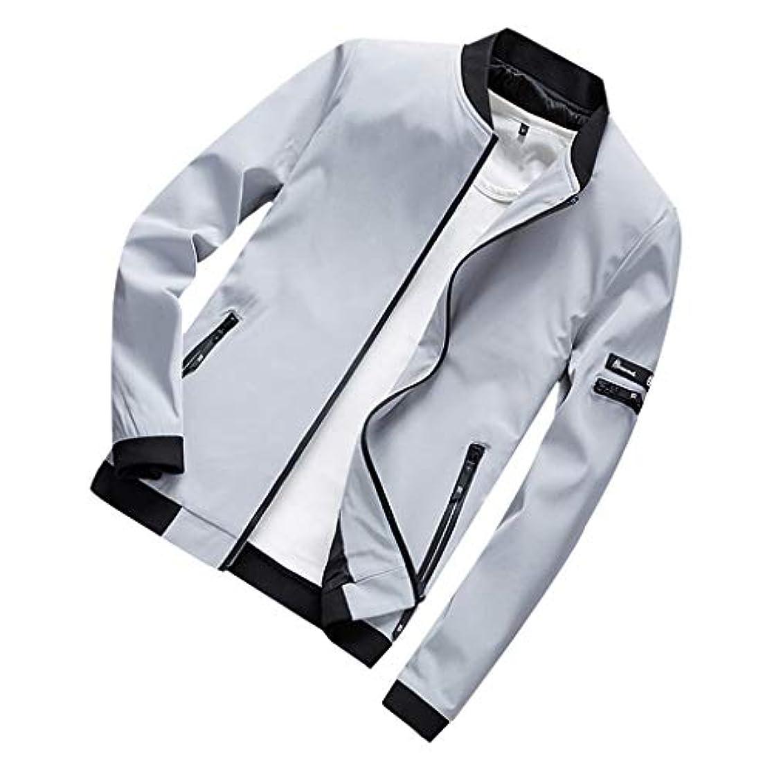 可聴ラオス人学習ジャケット メンズ コート ブルゾン 秋 冬 防水 無地 カジュアル 綿 大きいサイズ アウター 黒 ストレッチ ビジネスシャツ 細身 ジャケット