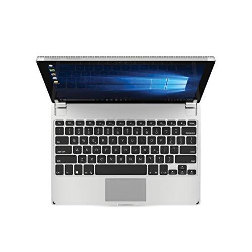 Brydge Microsoft Surface Pro 3/4 (12.3 インチ) 用 Bluetooth ワイヤレス 一体化型 アルミニウム キーボード ケース 128GB ストレージ...