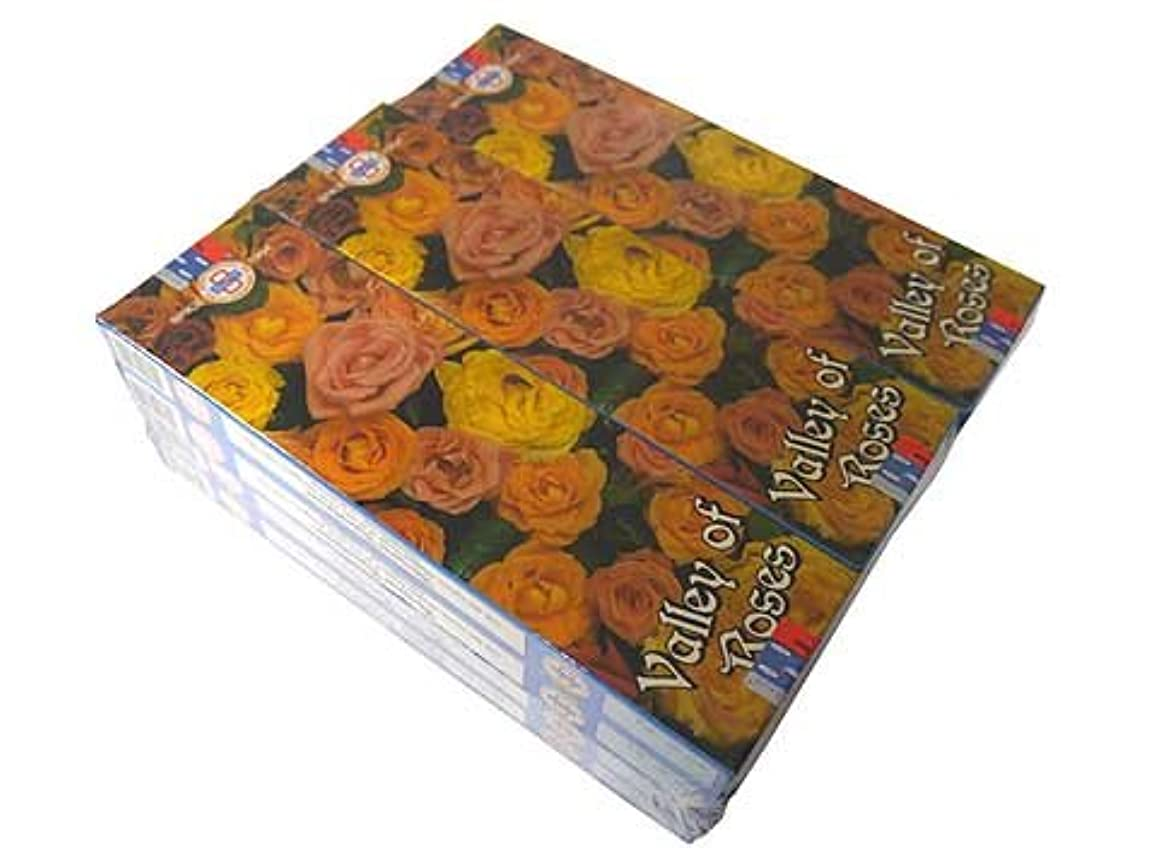 熱心なナースアラブSATYA(サチャ) バレーオブローズ香スティック マサラタイプVALLEY OF ROSE 12箱セット