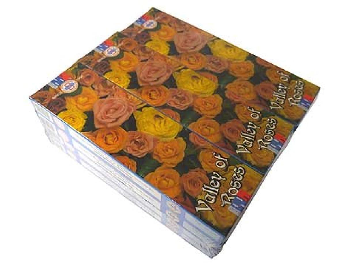 掃くハイライト過剰SATYA(サチャ) バレーオブローズ香スティック マサラタイプVALLEY OF ROSE 12箱セット