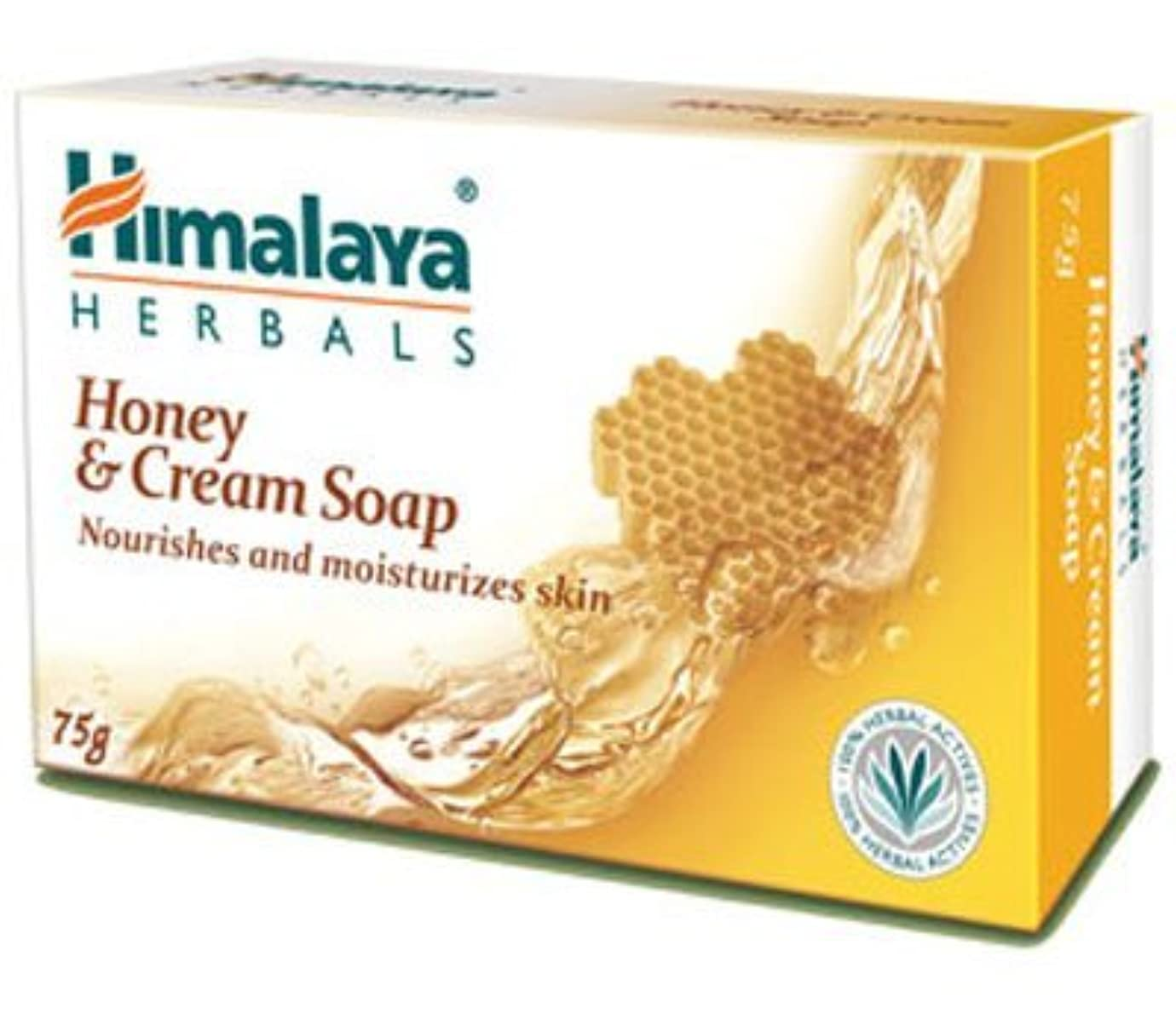 田舎経過半ばHimalaya Honey & Cream Soap - 125gm