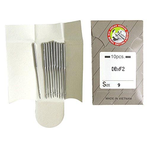 工業用特殊ミシン針 レザー用 10本入 9番手 DB-F2-9
