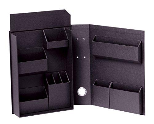 ナカバヤシ ライフスタイルツール 小物入れ 収納ボックス ファイルB5 ブラック LST-FB5BK