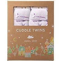 Angel Dear Cuddle Twin Set ブランケット 2個セット パープル カバ
