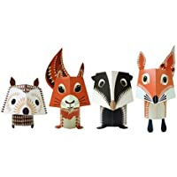 Papertoy Paper Animals - Forest Friends