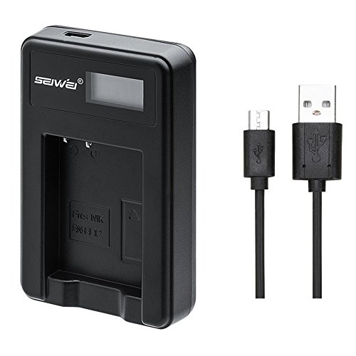 良いも NIKON EN-EL12 対応新型USB充電器 バッテリーチャージャー LCD付 4段階表示仕様 MH-65 Coolpix S9900, S9700, AW120, S9500, AW110, S70, S9600, S6300, S6200, S8100, S9100, S800c, S31 Digital Cameras対応