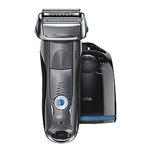 【Amazon.co.jp 限定】ブラウン メンズ電気シェーバー シリーズ7 7867cc 4カットシステム 洗浄機付 水洗い/お風呂剃り可