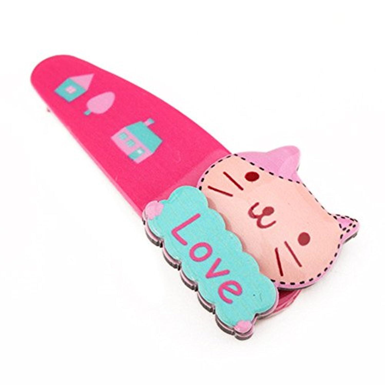 RONSHINベビーガールズファッションかわいい漫画ヘアクリップ魅力的なハードウェアas Gifts for Toddlers