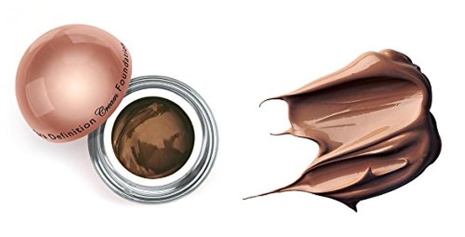 採用咲く手当LA Splash (無料なめらかな顔のシートマスク付き)LA-スプラッシュウルトラ定義されたクリームファンデーション 1オンス チョコレート/ 1オンス(20212)