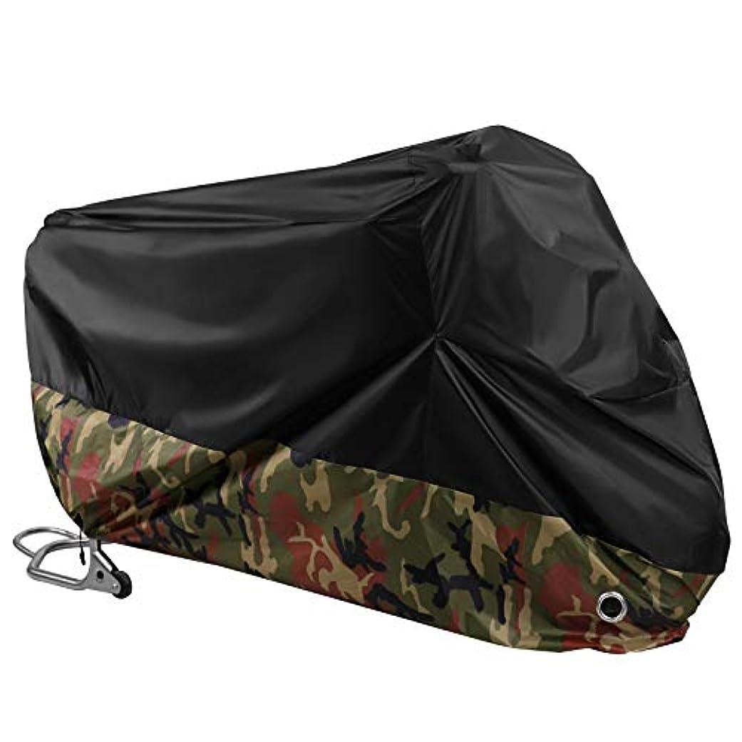 三コミットメント真似るUSPANDI 190Tウォーターレインプルーフ防塵UV保護オートバイバイク全てのシーズン屋外屋内ダートスクーターバイクカバー (Size : XXXL)