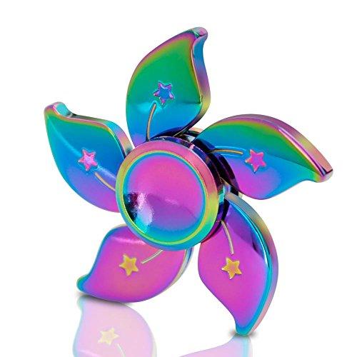 ZOTO ハンドスピナー 指スピナー スピン ウィジェット フォーカス EDC ADHD ADDおもちゃ 亜鉛合金 Hand spinner Fidget Spinner Toy